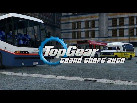 GTA 5 | Top Gear | The Bus Challenge