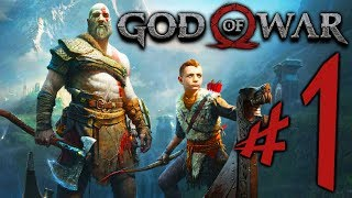 God of War (PS4) - Parte 1: Kratos e Atreus !!! [ Playstation 4 Pro - Playthrough ]