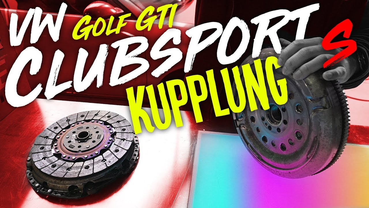 jp performance neue kupplung vw golf 7 gti clubsport s youtube. Black Bedroom Furniture Sets. Home Design Ideas