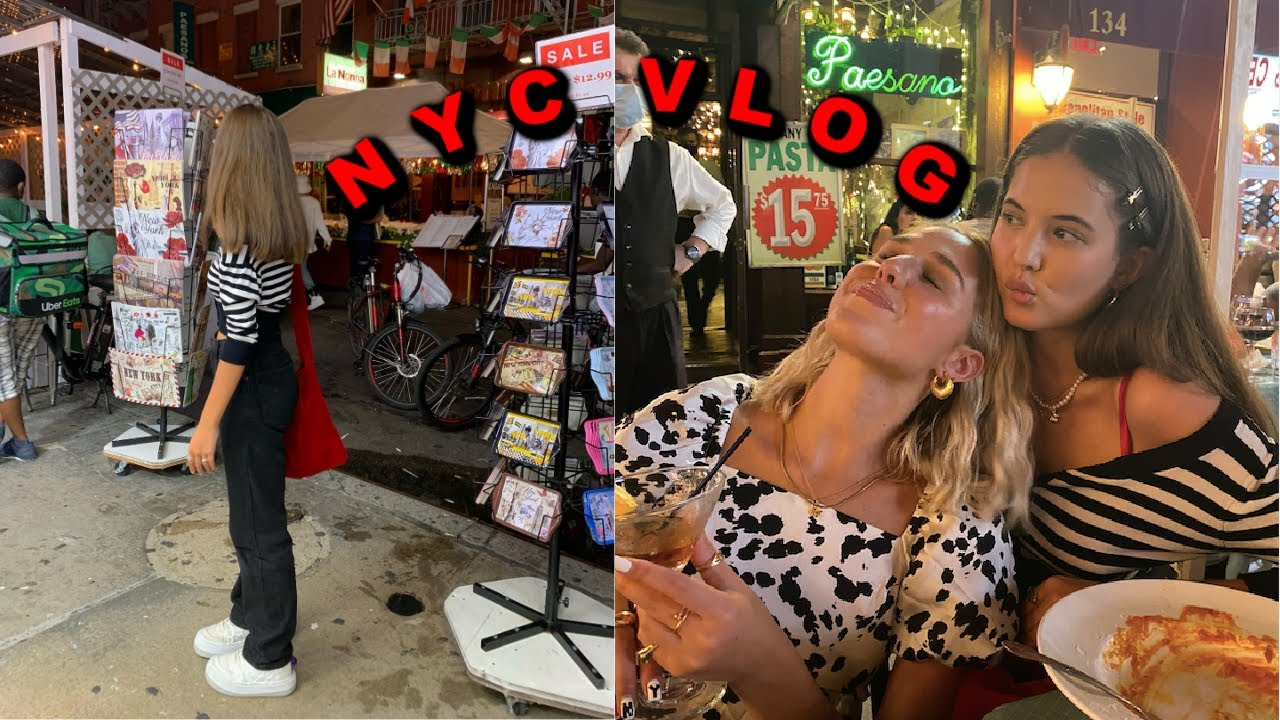 NYC VLOG: Thrift Shopping in Brooklyn + Hanging with friends in New York