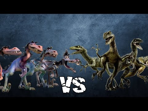 Velociraptor Fights: Rustlers vs Raptor Squad   SPORE thumbnail