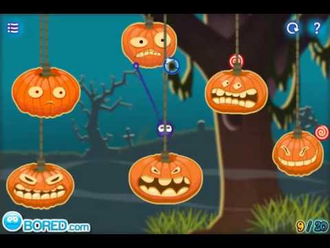 catch the candy halloween walkthrough