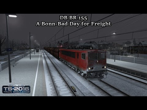 Train Simulator 2016 - Career Scenario - Cologne to Koblenz - A Bonn-Bad Day for Freight Part 6 |