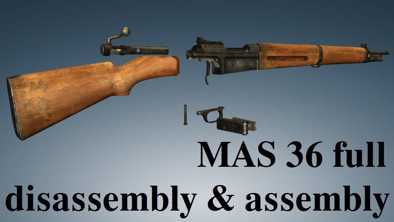 MAS 36: full disassembly & assembly