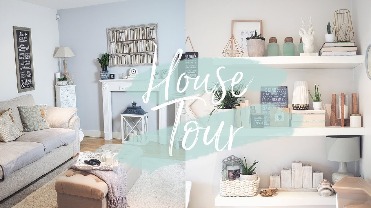 HOUSE TOUR | LIVING & DINING ROOM REVEAL | KATE MURNANE - YouTube