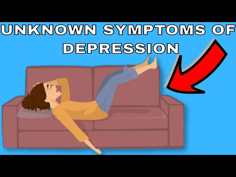 6 Unknown Symptoms Of Depression