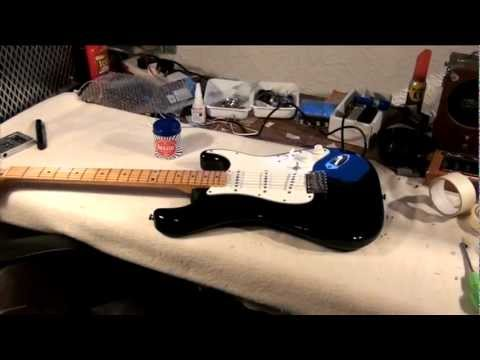 Tokai Strat refurb and Custom Shop upgrade