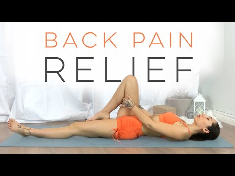 Yoga For Back Pain | Best Stretches For Back Pain Relief