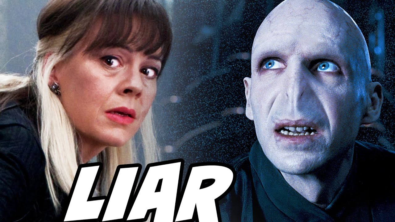 Why Narcissa Malfoy LIED to Voldemort about Harry - Harry Potter Explained