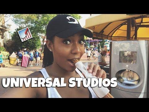 TRAVEL VLOG 4 | UNIVERSAL STUDIOS ORLANDO