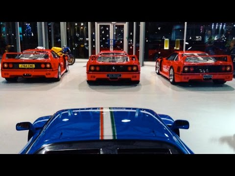 Million Supercar Showroom Youtube