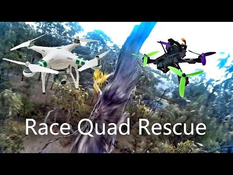 Drone Retrieval Drone? - Rescue Phantom - Wizard X220 Stuck In A Tree