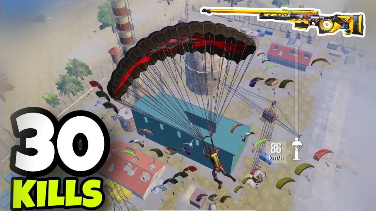 NEW BEST LANDING PLACE!!! | BEST M762 PLAYER | 30 KILLS SOLO VS SQUADS | PUBG MOBILE