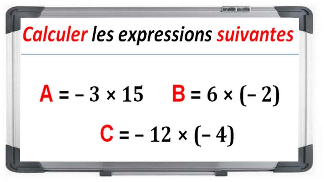Maths 4ème - Les nombres relatifs en écriture décimale ...