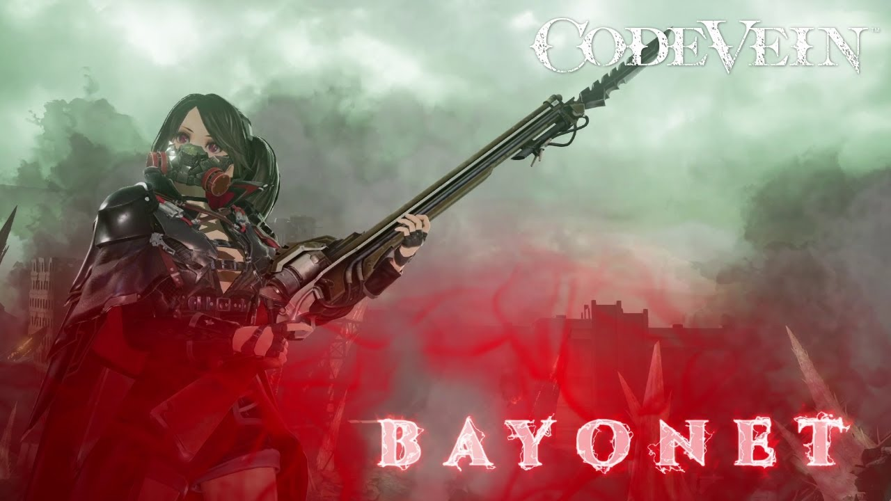 Code Vein Highlights The Bayonet In New Video