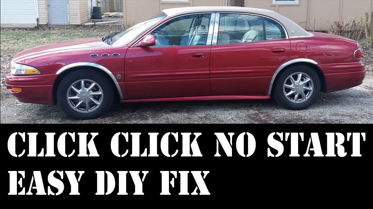 2004 Buick Lesabre Click No Start Easy Fix Youtube Location Of Starter Relay On 95 Skylark