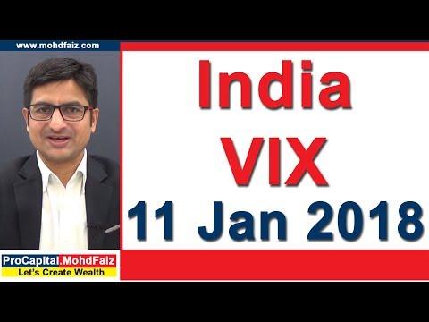 India VIX 11 Jan 2018