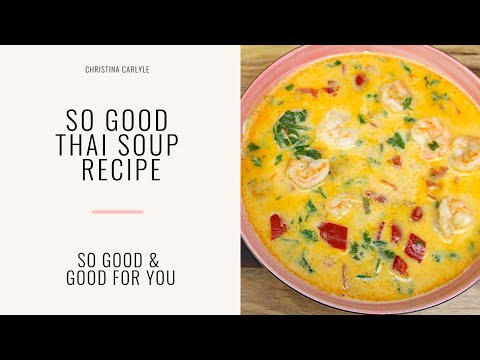 Coconut Shrimp Thai Soup Recipe