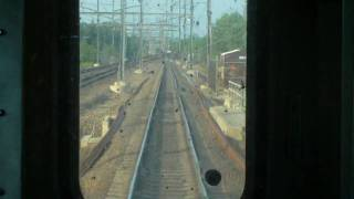 Amtrak Keystone Railfan Window from Secaucus to North River Portal