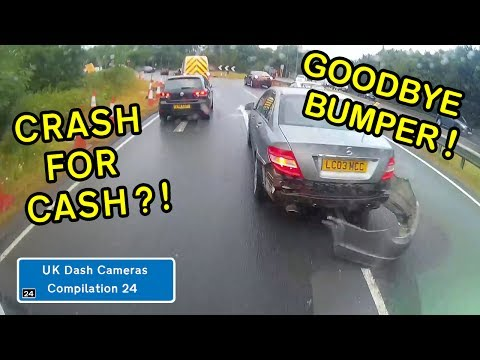 UK Dash Cameras - Compilation 24 - Bad Drivers, Crashes + Close Calls