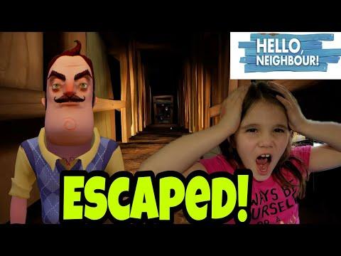Hello Neighbor Act 1! I Escaped the Basement! |