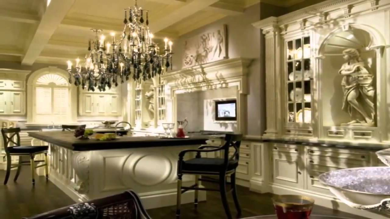 Luxury kitchen design youtube for Kitchen designs pics