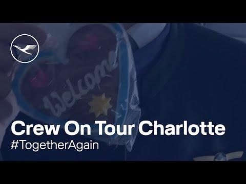 Crew On Tour  Charlotte, USA | Lufthansa