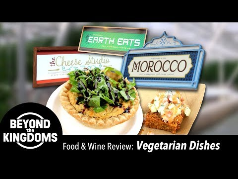 Epcot Food and Wine Festival Best Vegetarian & Vegan Dishes
