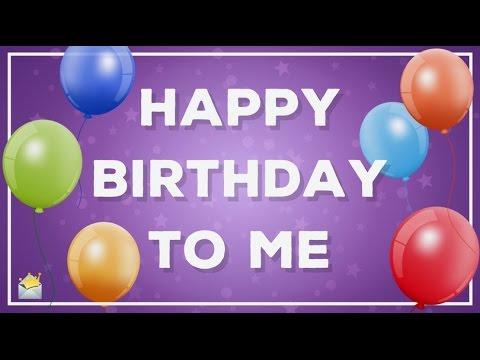 Happy Birthday To Me! | My Birthday Status Update For Myself