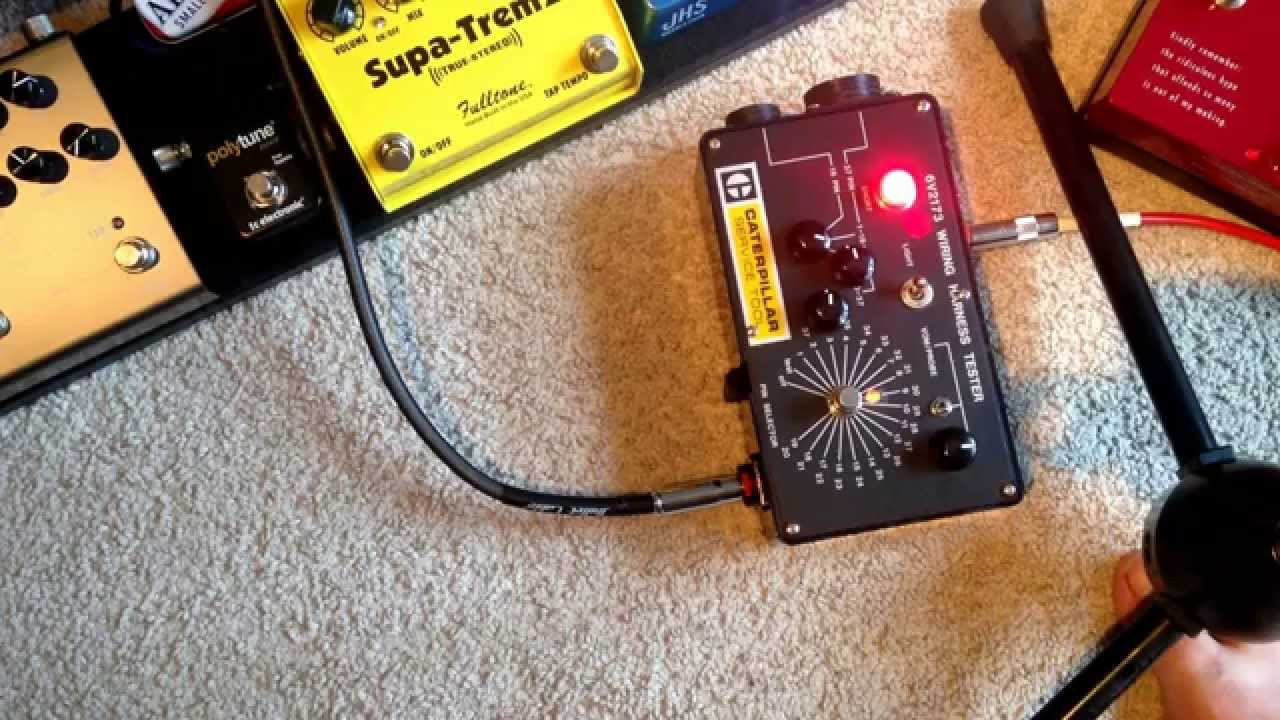 small resolution of exh soul food pedal re cased in an old caterpillar wiring harness tester sg orange retro 50