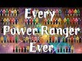 Naming every Power ranger (Quiz)