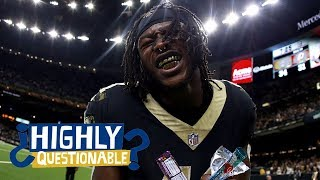 Saints' Alvin Kamara tells stories about his career and Adrian Peterson | Highly Questionable | ESPN