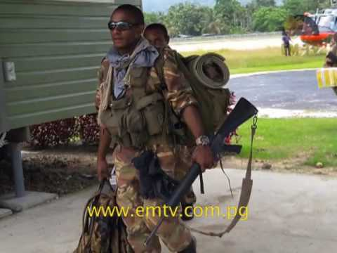 PNG Defence force will be deployed to Hela Province tomorrow