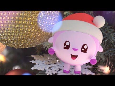 Малышарики - Топ-Топ, Новый год - серия 106 - обучающие мультфильмы для малышей 0-4 - новый год!