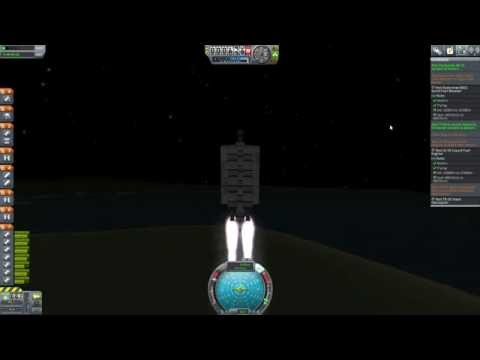 KSP   5 Contract Sub-Orbital Flight