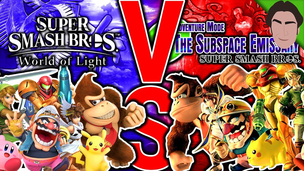 World of Light BETTER than Subspace Emissary?? Super Smash Bros