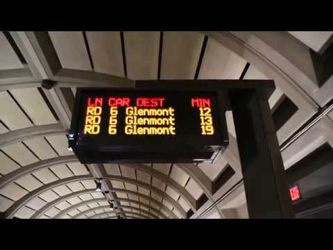 Washington DC Metro, (Partial) Underground Stations on the Red Line