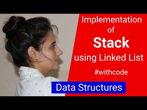 3.3 Stack Implementation Using Linked List   Data Structures