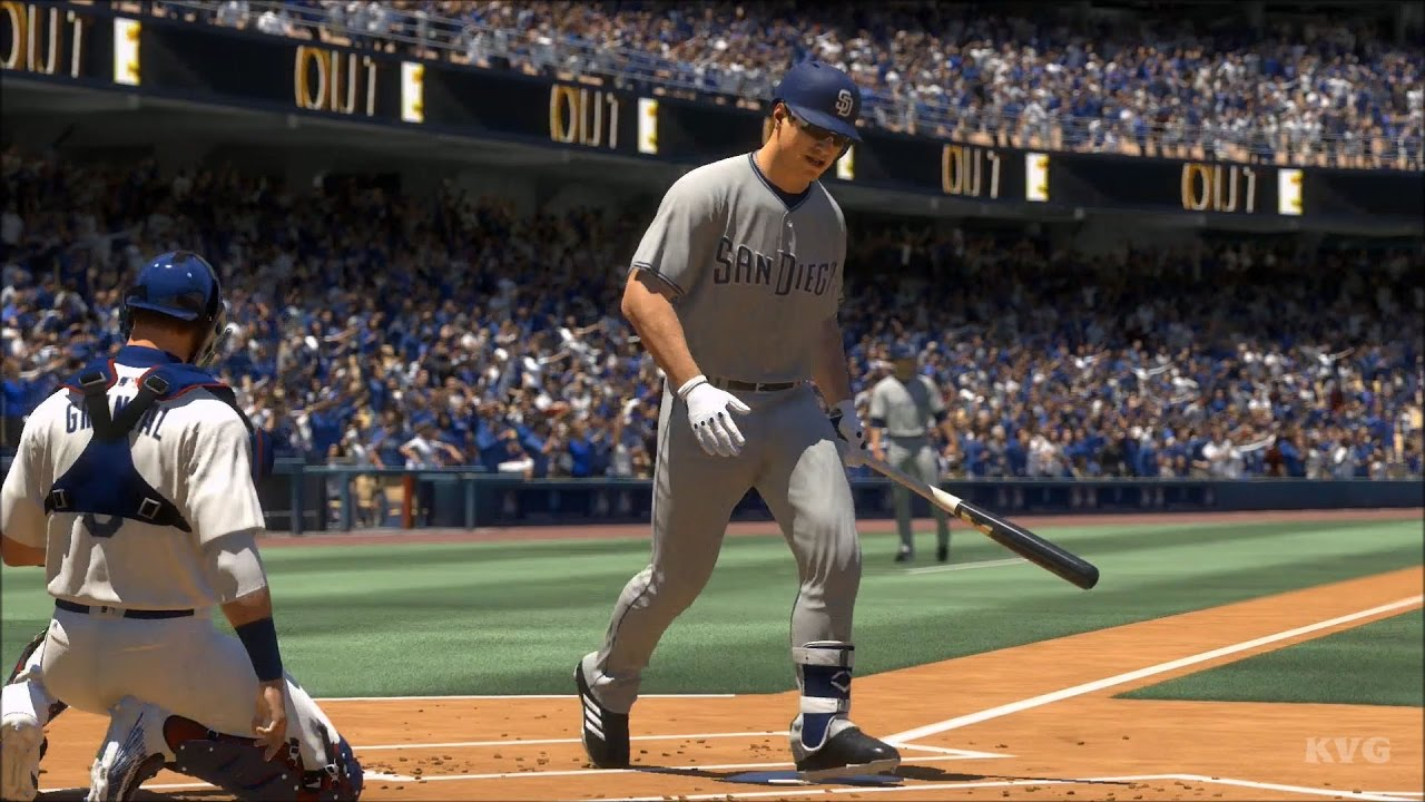 8691f98917d MLB The Show 17 - San Diego Padres vs Los Angeles Dodgers