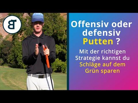 Putten | offensiv oder defensiv? | Die beste Putt Strategie für dich | Schläge sparen | Theorie