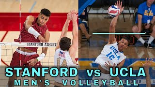 STANFORD vs UCLA | Men's NCAA Volleyball (2/8/20)