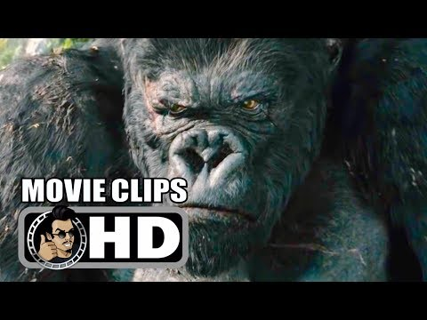 KING KONG - 4 Movie Clips + Trailer (2005) Peter Jackson, Jack Black Action Movie HD