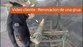 Video de un cliente, renovacion de una grua