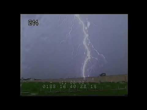 STS-135 Launch Pad Lightning Strike