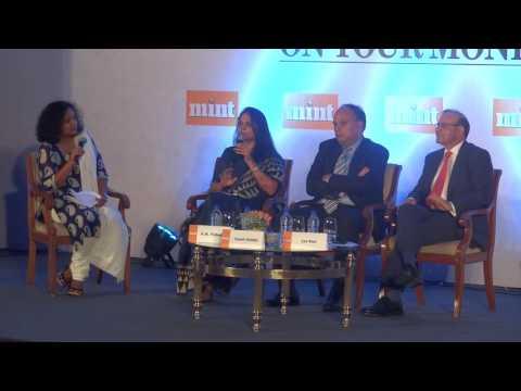 Vishakha R M, MD & CEO, IndiaFirst Life Insurance at #YourMoney Conclave 2017-18