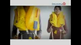 china airlines airbus a330 300 safety video 中華航空a330 300安全錄像片