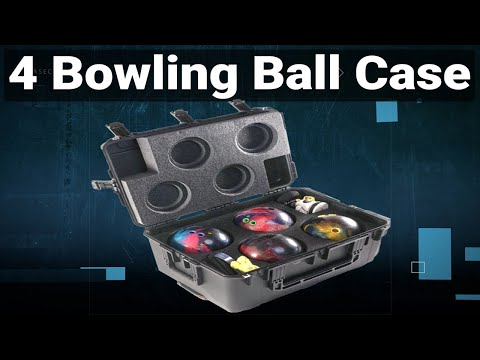 4 Bowling Ball Case - Video