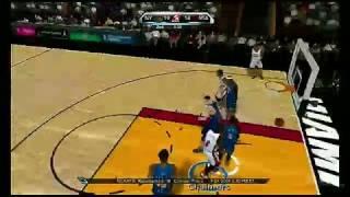 NBA 2K10 Nintendo Wii Gameplay - Heat vs. Knicks