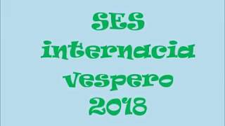 SES internacia vespero 2018 (Slovakio)