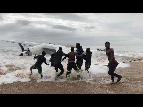 Live updates: Cargo plane crashes into sea off Abidjan, Ivory Coast